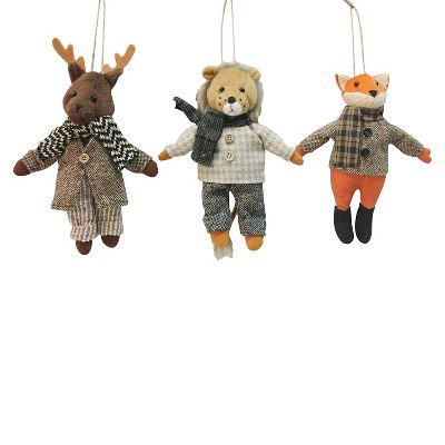 Fabric Characters in Suits Ornament Assorted