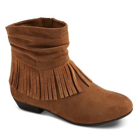 betseyville rodeo fringe wedge boots co target