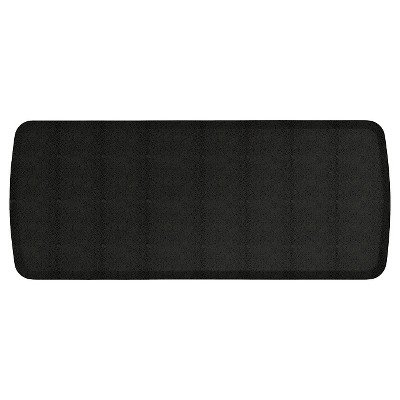 "GelPro Elite Shagreen Comfort Kitchen Mat - Black Knight (20""x48"")"