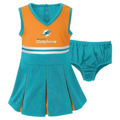 Miami Dolphins Toddler/Infant Cheerleader 18 M