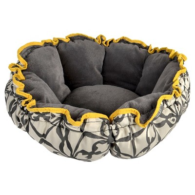 Pet Bed Wild Olive Ebony Vintage Yellow Cashmere Gray