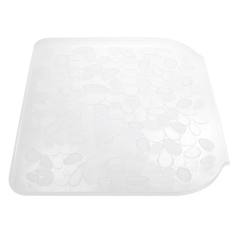 Plastic Utility Sink With Drainboard : InterDesign Pebblz Plastic Sink Drainboard - Clear (Large) product ...
