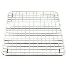 InterDesign Gia Stainless Steel Sink Grid - Polished Chrome (Large)