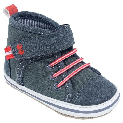 Baby Boys' Grey High Top Sneaker 0-6M - Surprize by Stride Rite™