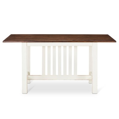 "Davern Cottage 62"" Dining Table - Off White"