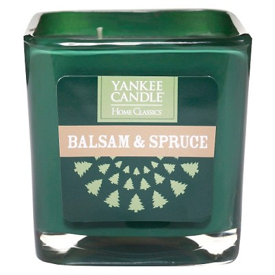 Yankee Candle Balsam & Spruce Large Square Jar Candle