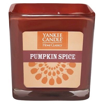 Yankee Candle Pumpkin Spice Large Square Jar Candle