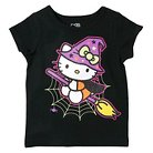 Toddler Girls' Hello Kitty T-Shirt - Black