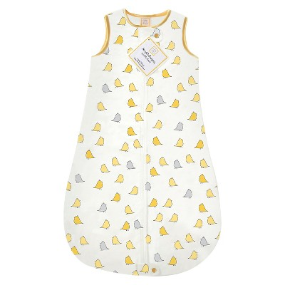 SwaddleDesigns® zzZipMe Sack® - Birds - Yellow - 3-6 M