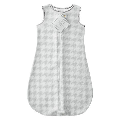 SwaddleDesigns® zzZipMe Sack® - Houndstooth - 6-12 M