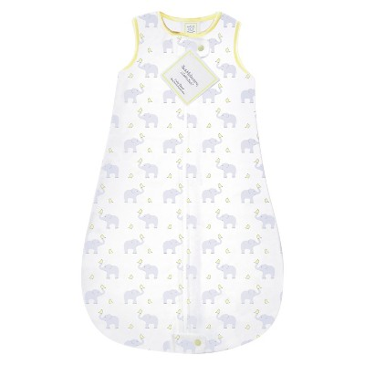 SwaddleDesigns® zzZipMe Sack® - Elephant - Pastel Yellow - 3-6 M