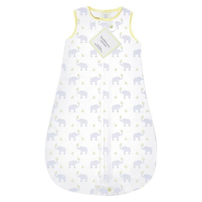 SwaddleDesigns® zzZipMe Sack® - Elephant - Pastel Yellow - 12-18 M