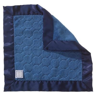 SwaddleDesigns® Fuzzy Baby Lovie® - Jewel Tones - True Blue