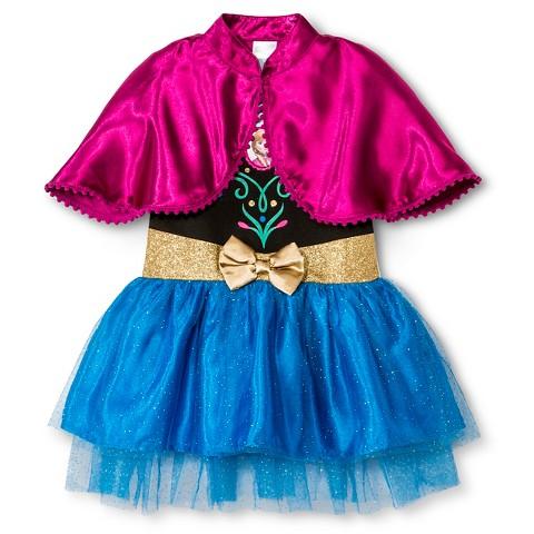 Toddler Girls' Frozen Anna Tunic Dress - Blue : Target