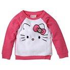 Toddler Girls' Hello Kitty Sweatshirt - White