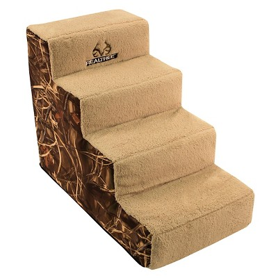 "Realtree 28"" 4 Step Camo Pet Steps"