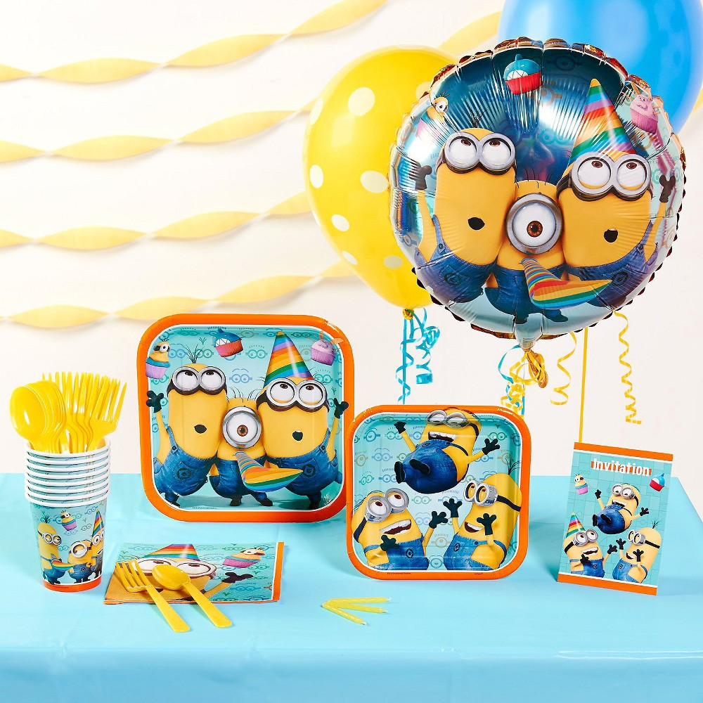 Despicable Me 2 Basic Party Kit for 8, Multi-Colored