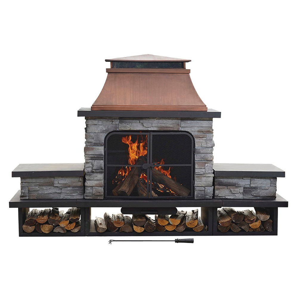 Upc 846822003955 Product Image For Outdoor Fireplace