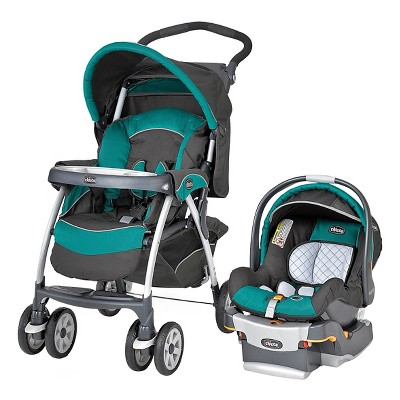 Chicco Cortina SE 30 Travel System - Atlantic