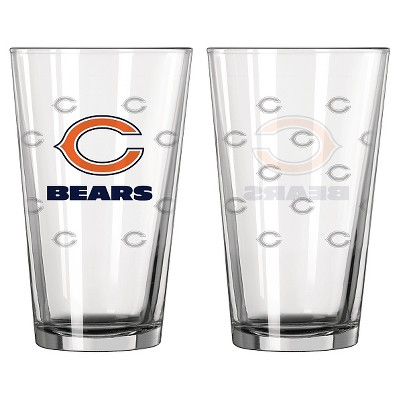 NFL Boelter 2 pack Pint Set -Chicago Bears