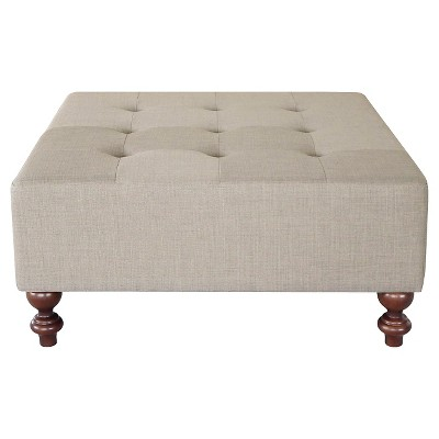 Tufted Large Cocktail Ottoman - Threshold™