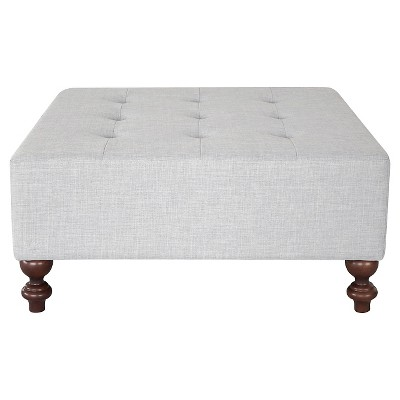 Large Tufted Bench - Gray - Threshold™