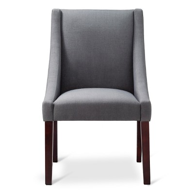 Threshold Anywhere Swoop Arm Chair KD Leisure Slate