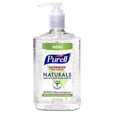 Purell Naturals Hand Sanitizer 12 oz