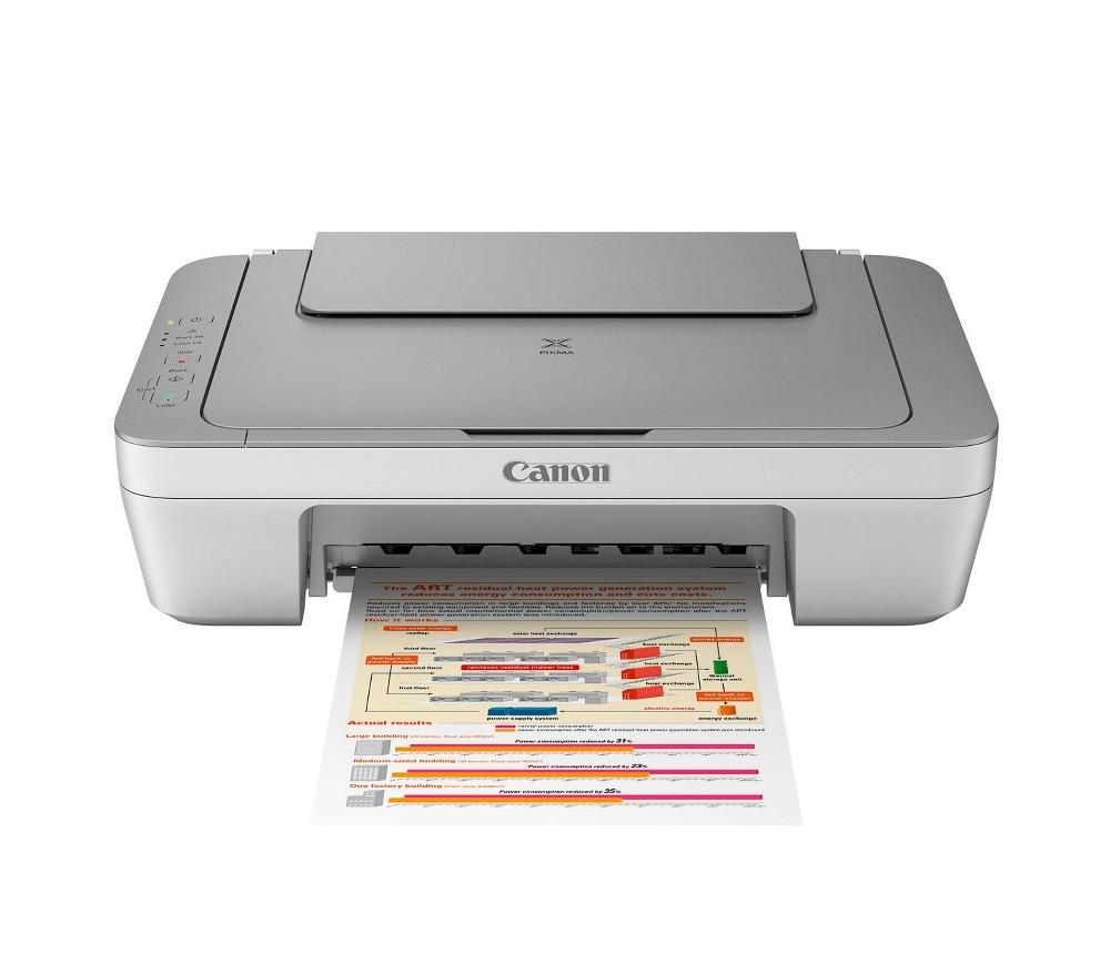 Canon Multifunction Inkjet Printer Auto Warm-up - White (MG2420)