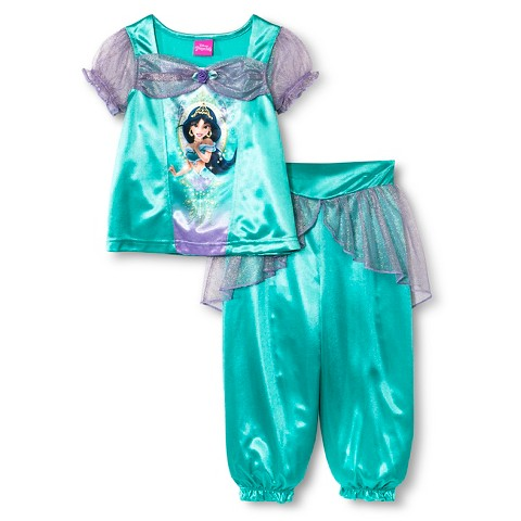 Disney princess jasmine toddler girls 39 pajama s target - Robe jasmine disney ...