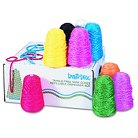 Pacon® Trait-tex® Trait-tex Yarn Dispenser, 100% Acrylic, 3-Ply - Multi-Colored