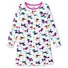 Girls' Dogs Nightgown - White
