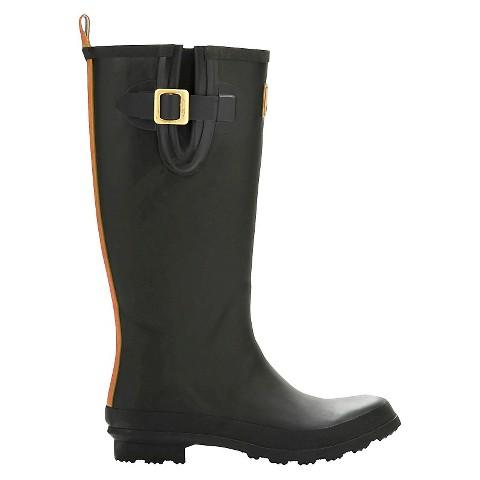 Amazing Women39s Black Cherry Rain Boots  Target