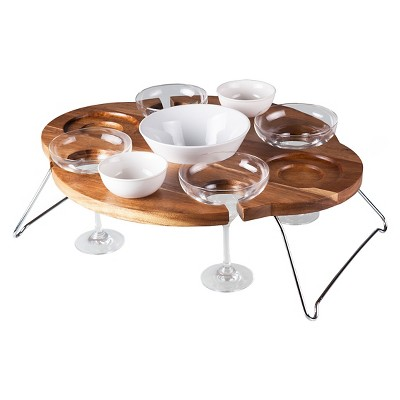 Legacy Mesarita Margarita/Chip and Dip Serving Table