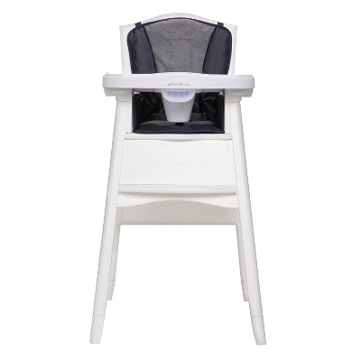 Eddie Bauer Deluxe 3-in-1 White High Chair - Twilight Blue