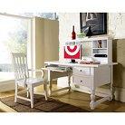 3 Piece Sofia Desk, Hutch and Chair Set - Steve Silver Co.