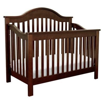 DaVinci Jayden 4-in-1 Convertible Crib with Toddler Rail -  Espresso
