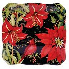 "Certified International Botanical Christmas Square Platter (12.5"")"