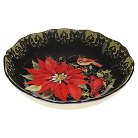 "Certified International Botanical Christmas Round Platter (13"")"