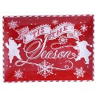 "Certified International Chalkboard Christmas Rectangular Platter (16"" x 12"")"