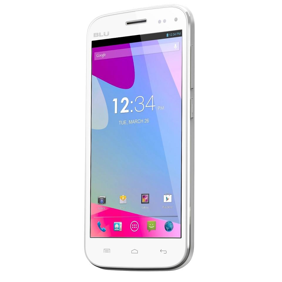BLU Life Play S L150u Unlocked GSM Dual SIM Android Cell Phone   White