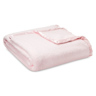 Shabby Chic King Blanket Pink
