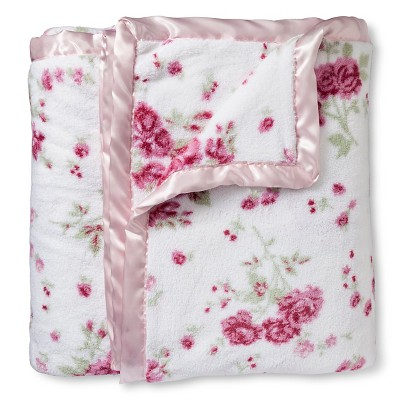 Shabby Chic Twin Blanket Floral