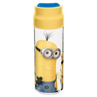 Portable Beverage Bottle Zak 15oz. Yellow Minions