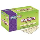 Chenille Kraft® Natural Wood Craft Sticks, 4 1/2 x 3/8 - 1000 Per Box
