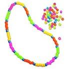Creativity Street® Pony Beads, Plastic, 6mm x 9mm - Multi-Colored (1000 Per Set)