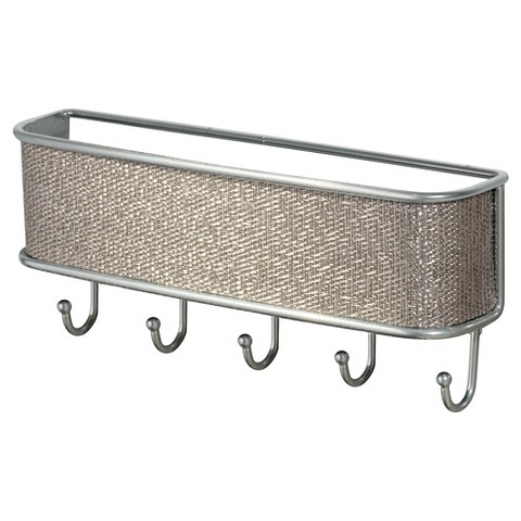 Interdesign twillo wall mount mail key rack target - Wall mount mail and key rack ...