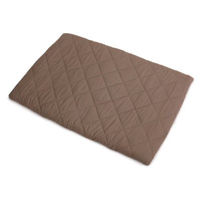 Graco Quilted Pack 'n Play Playard Sheet - Brown