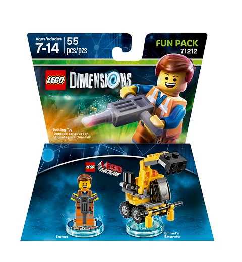 LEGO Dimensions - LEGO Movie Fun Pack - Emmet