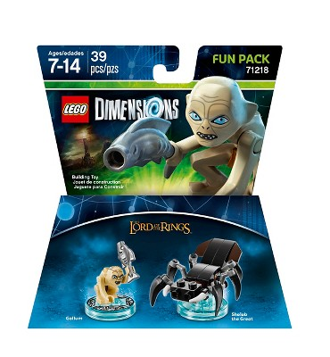 LEGO Dimensions - Lord of the Rings Fun Pack - Gollum